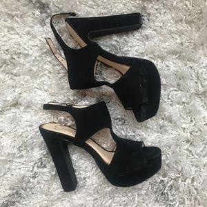 Jessica Simpson Block Heel Sandal | Black | 8